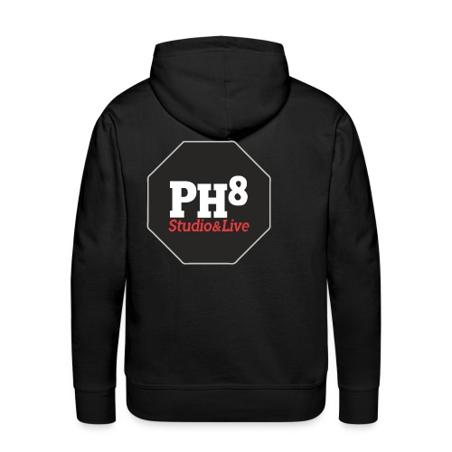 PH8 - Studio & Live - Sweat-shirt à capuche Premium pour hommes