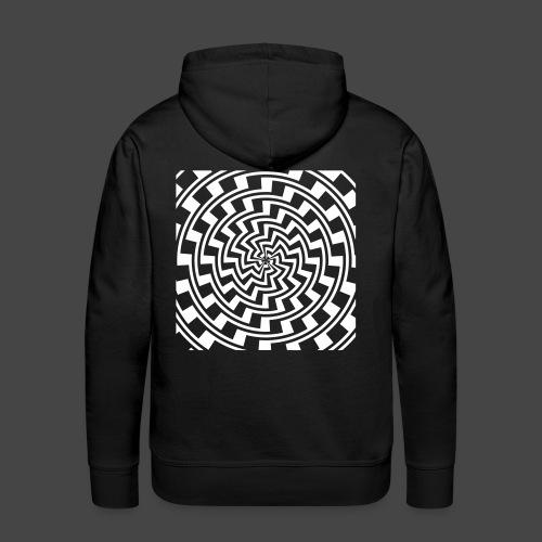 spirale 23 - Sweat-shirt à capuche Premium pour hommes