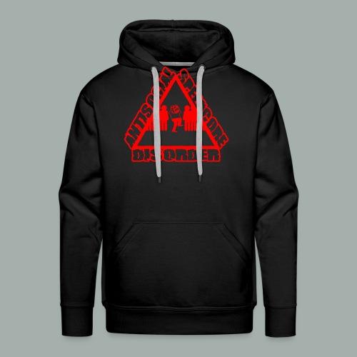 ANTISOCIAL red png - Sweat-shirt à capuche Premium pour hommes