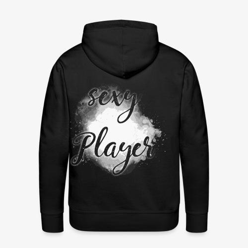 sexy player gamer spieler spiel black 2reborn - Männer Premium Hoodie