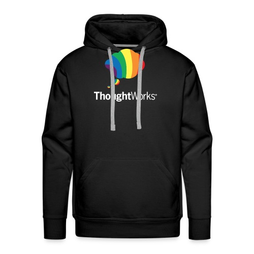 ThoughtWorks Cloud, white - Männer Premium Hoodie