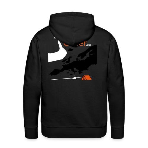 TravelByGlider_Shirt_Logo - Männer Premium Hoodie