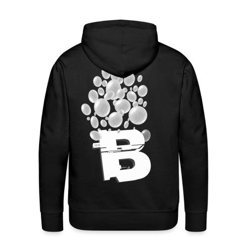 Bruistablet logo - Mannen Premium hoodie