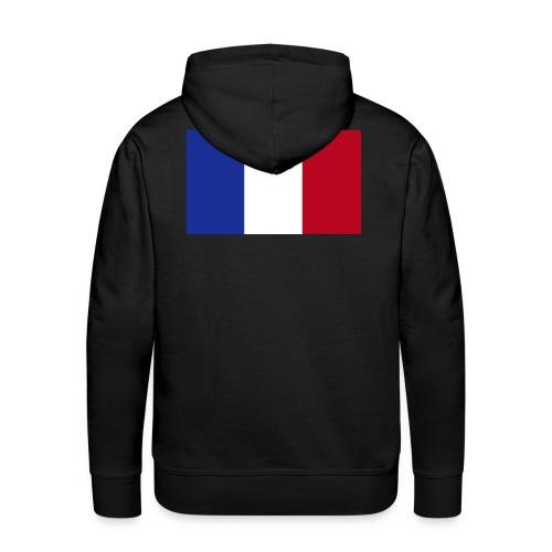 Französische Flagge - Männer Premium Hoodie