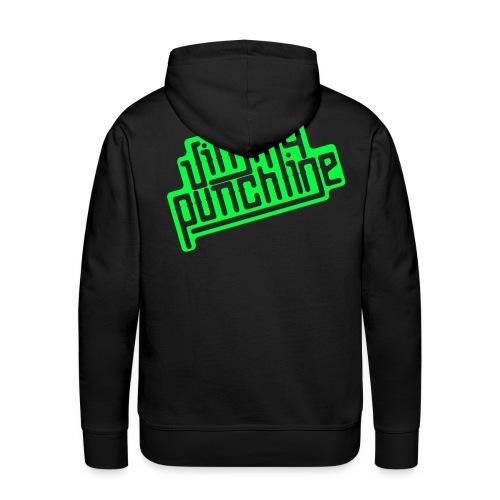 Jimmy Vert - Sweat-shirt à capuche Premium pour hommes