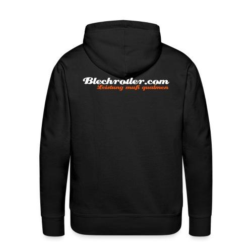 blechroller logo - Männer Premium Hoodie