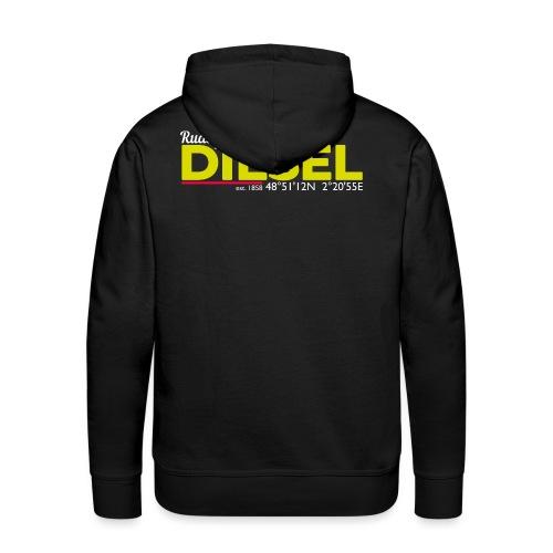 Rudolf Diesel geboren in Paris I Dieselholics - Männer Premium Hoodie