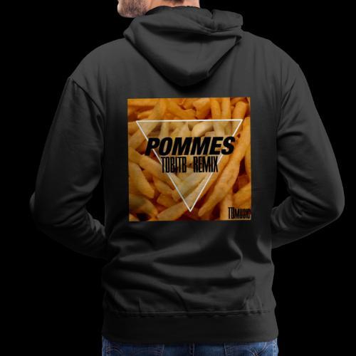 Pommes TobiTB Remix Cover - Männer Premium Hoodie