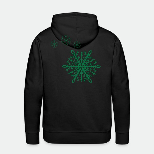 Snowflakes arc - Men's Premium Hoodie