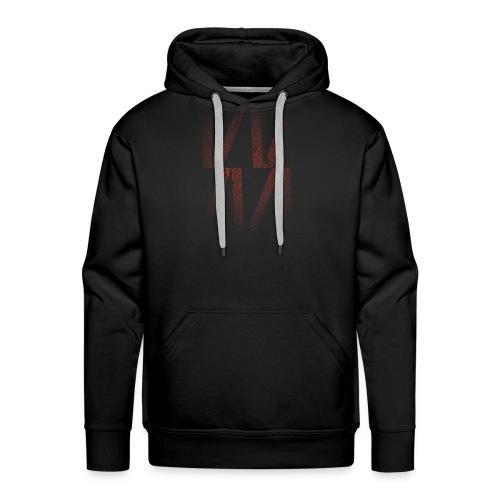 Whever Esport Glitch - Sweat-shirt à capuche Premium pour hommes