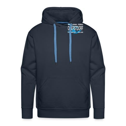 WWSO Logo Weis - Männer Premium Hoodie