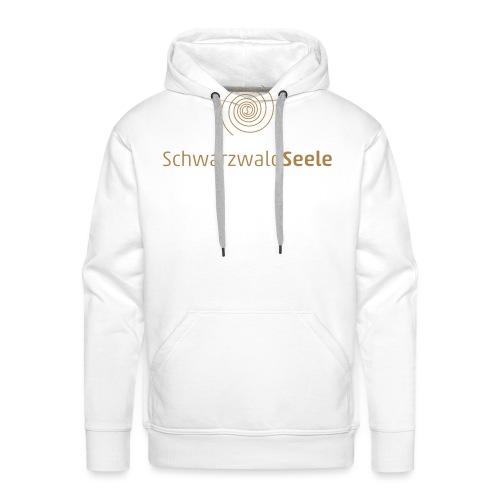 SchwarzwaldSeele Logo br - Männer Premium Hoodie