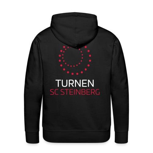 Logo der Turnabteilung des SC Steinbergs - Männer Premium Hoodie
