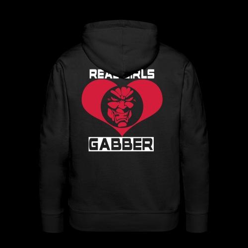 Real Girls Love Gabber Hoodies & Sweatshirts - Men's Premium Hoodie