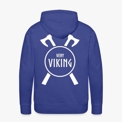 Very Viking Brand - Herre Premium hættetrøje