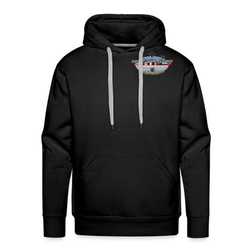 t shirt dday overlord noir png final png - Sweat-shirt à capuche Premium pour hommes
