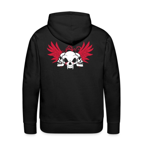skull and wings - Men's Premium Hoodie