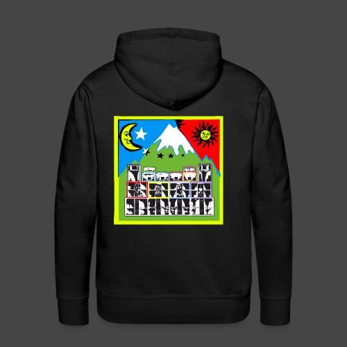 TEKNO SQUAT RESEAU couleur TRIP par TEKNO 23 - Sweat-shirt à capuche Premium pour hommes