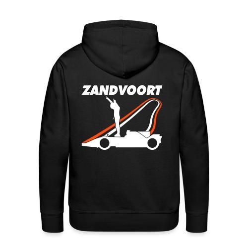 Zandvoort rood wit blauw - Mannen Premium hoodie