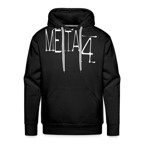 Meta4 Font Vector T-shirts - Men's Premium Hoodie