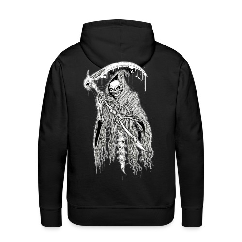 DEATH black - Men's Premium Hoodie