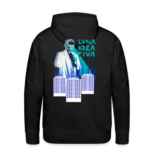 Luna Kreativa - Radiation - Miesten premium-huppari