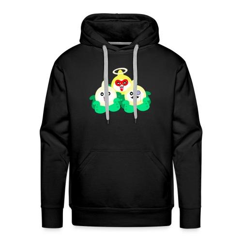 TrioPACH png - Sweat-shirt à capuche Premium pour hommes