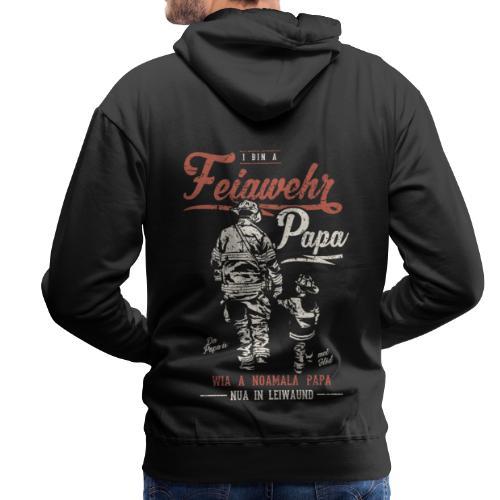Vorschau: Feiawehrpapa - Männer Premium Hoodie