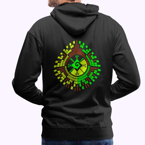 Hunab Ku DNA Tree - Men's Premium Hoodie