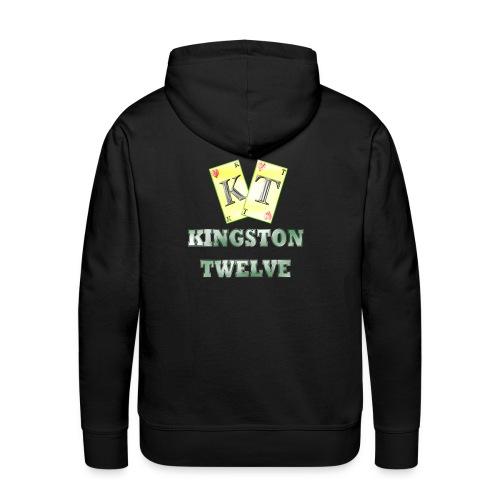 kingston twelve - Sweat-shirt à capuche Premium pour hommes
