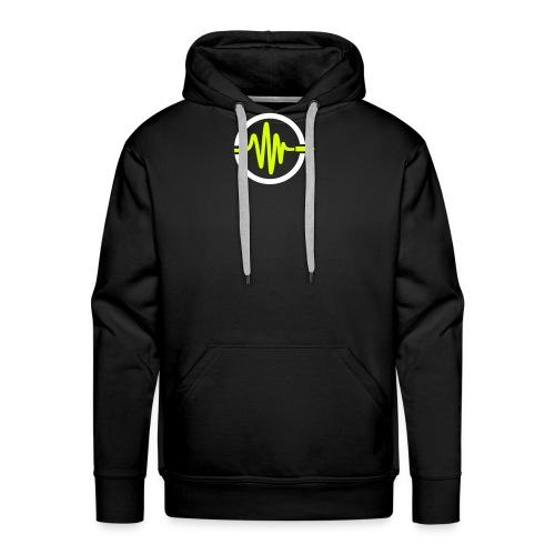 Vibration Events Logo Sigle - Sweat-shirt à capuche Premium pour hommes