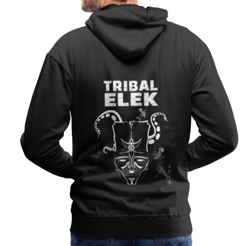 Tribal Elek 2018 - Sweat-shirt à capuche Premium pour hommes