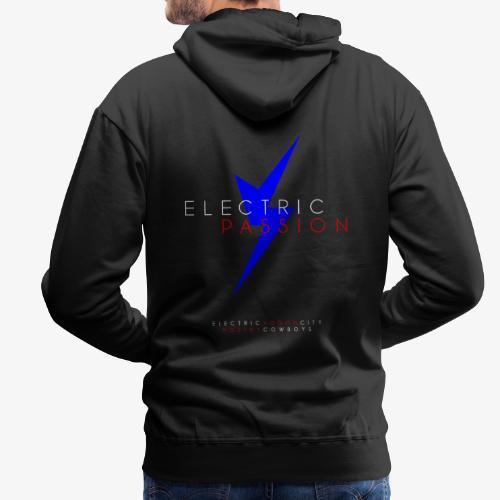 Electric Passion / Symbol + Titel + Artister - Premiumluvtröja herr