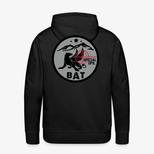 BAT VECT 3 - Sudadera con capucha premium para hombre