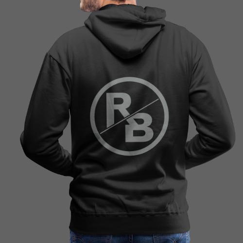 RONNY BRUNSON-LOGO.png - Männer Premium Hoodie