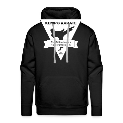 www-karate - Männer Premium Hoodie