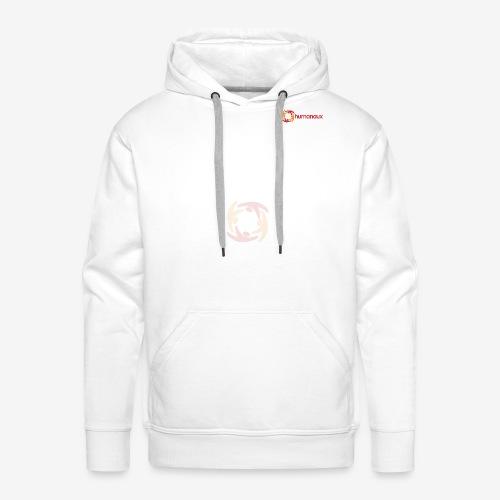 Logo (blass) - Männer Premium Hoodie