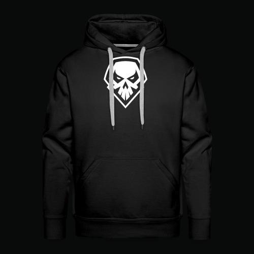 tank logo black - Men's Premium Hoodie