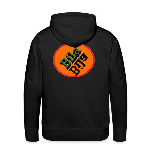 logo official png - Mannen Premium hoodie