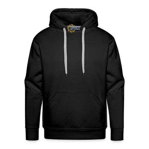 cfo back - Men's Premium Hoodie