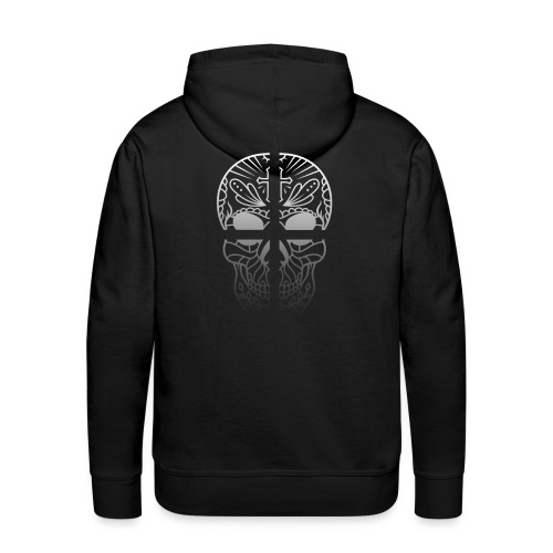 Skull Cross Totenkopf - Männer Premium Hoodie