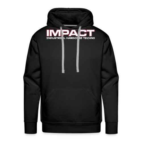 Impact TEXT - Men's Premium Hoodie