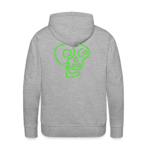 poco loco logo green - Men's Premium Hoodie