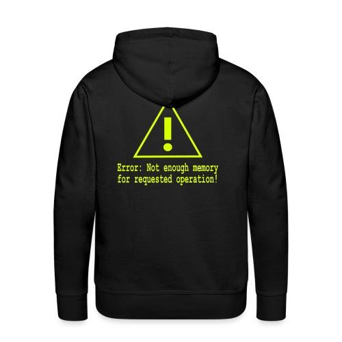 Error Nerd - Männer Premium Hoodie