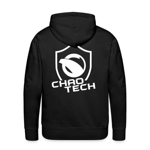 chaotechlogo vit - Men's Premium Hoodie