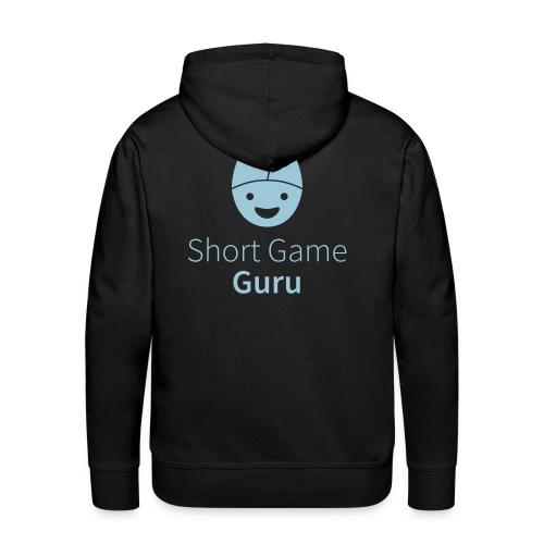 Short Game Guru White - Männer Premium Hoodie
