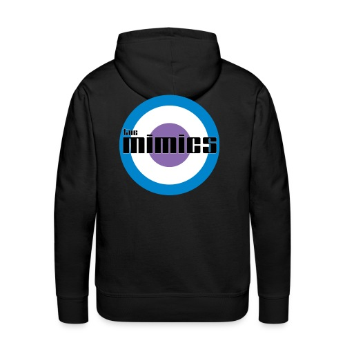 The Mimics - 2011 Logo - Men's Premium Hoodie
