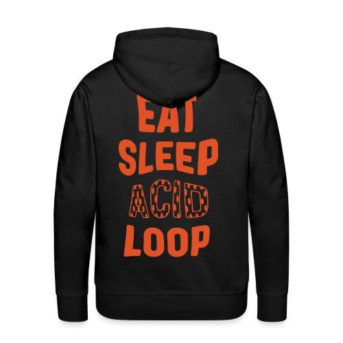 Eat Sleep Acid Loop - Men's Premium Hoodie