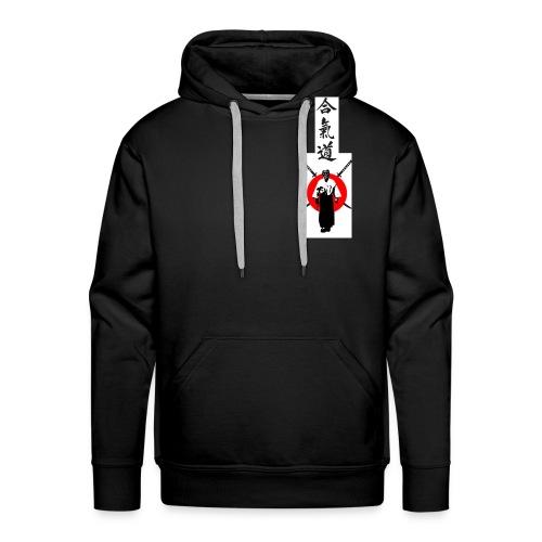 TSHIRT aïkido2 png - Sweat-shirt à capuche Premium pour hommes