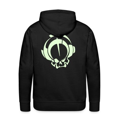 logo oxyd 3 - Sweat-shirt à capuche Premium pour hommes